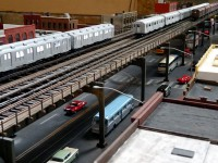 USA-Feeling in Dresden: New York City Transit Models.